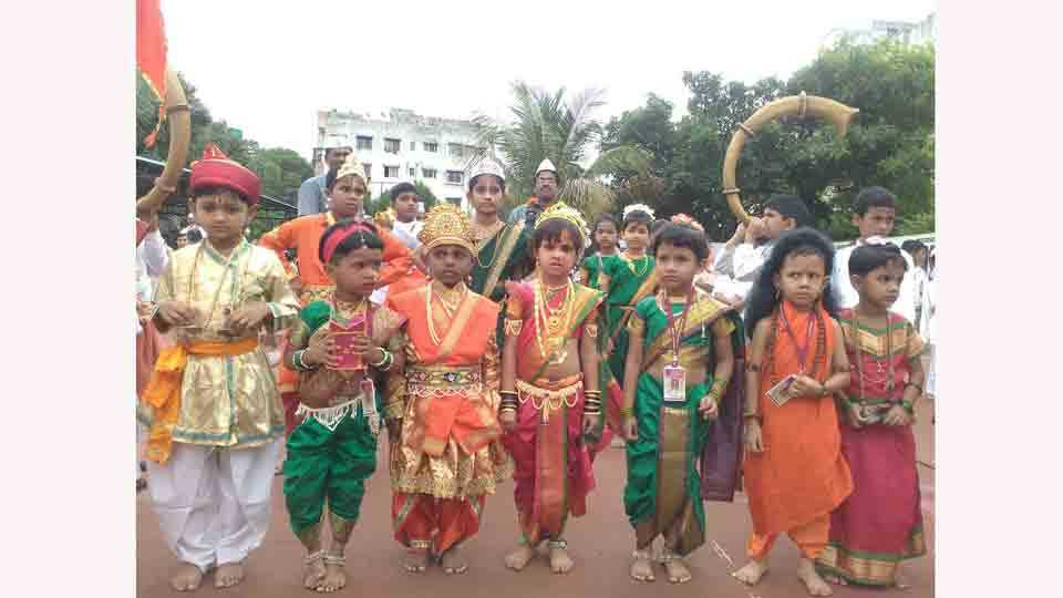 The students of the new millennium school have experienced Ringan Sohla