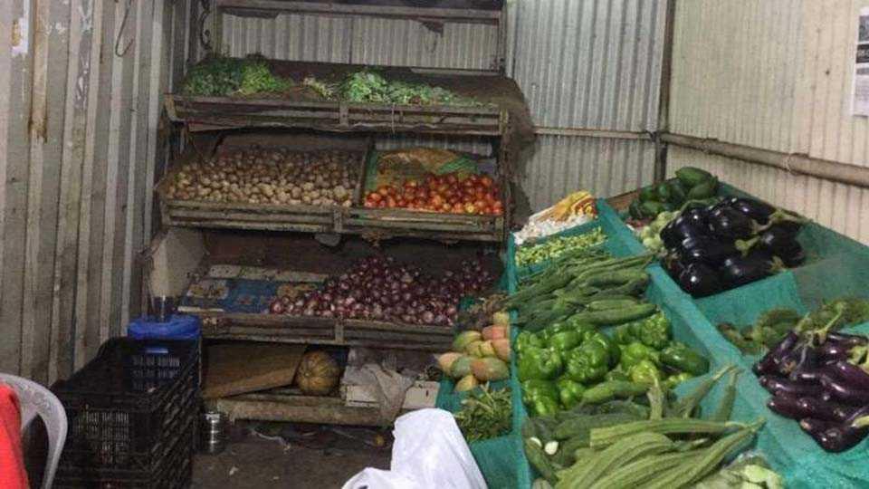 Pimpale Saudagar vegetable shops