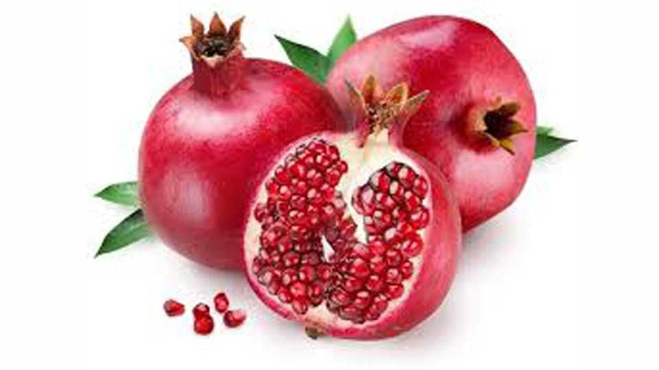 Good days for pomegranate this year