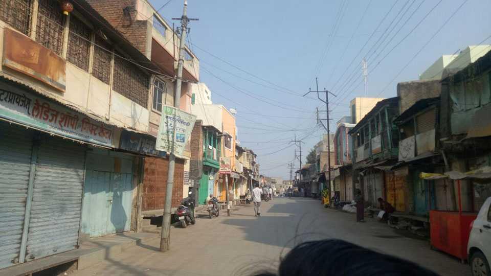 Marathi News Koregaon Bhima Violence Akkalkot Bus Station Traffic Closure