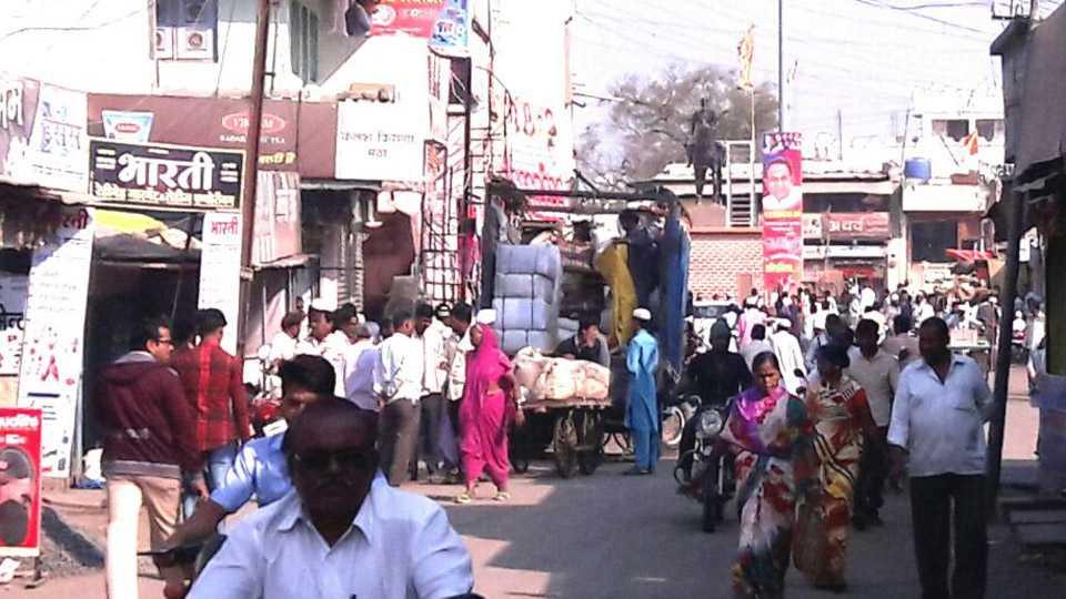 Marathi News Koregaon Bhima Jalna Mantha Market