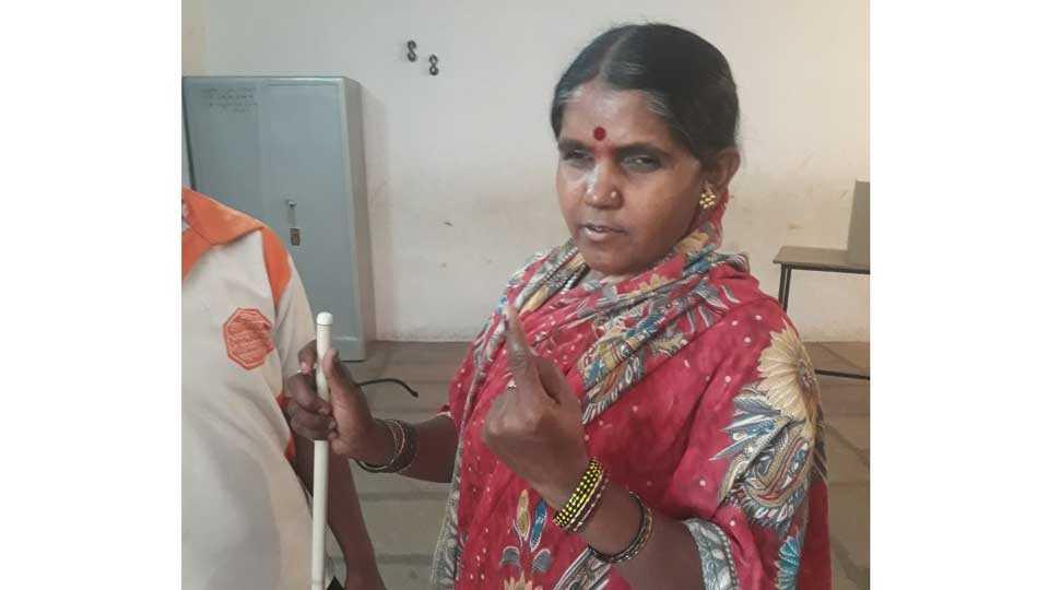 good response to solapur municipal bypolls