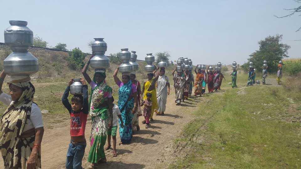 rajmane village water issue