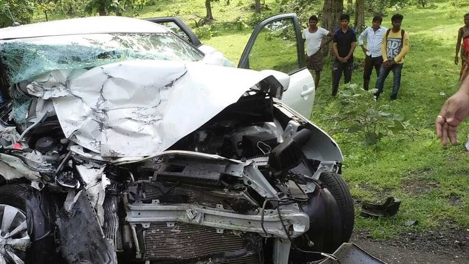 7 dead in an accident near govindgaon in gadchiroli district