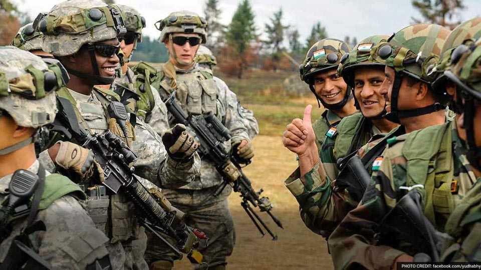 india us military exercise