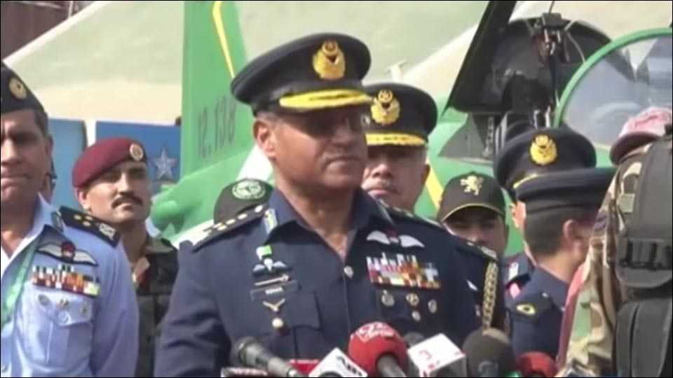 Chief of Air Staff Air Chief Marshal Sohail Aman