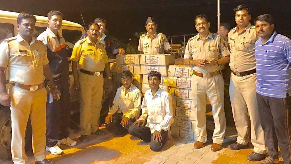 aurangabad news marathi news sakal news crime wine fulambri news