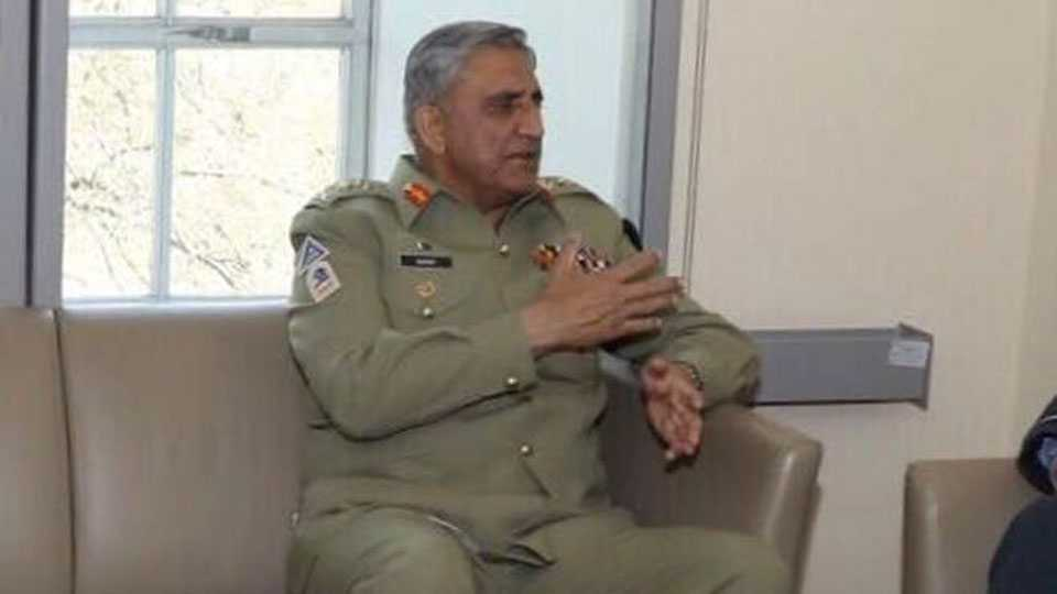 Peace with India possible only through dialogue says Pakistan Army chief Gen Qamar Javed Bajwa