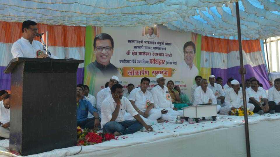 Congress leader Balasaheb Thorat talked about farmer loan waiver