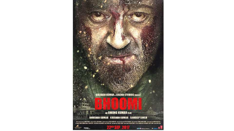 sanjay dutt new movie bhoomi poster esakal news
