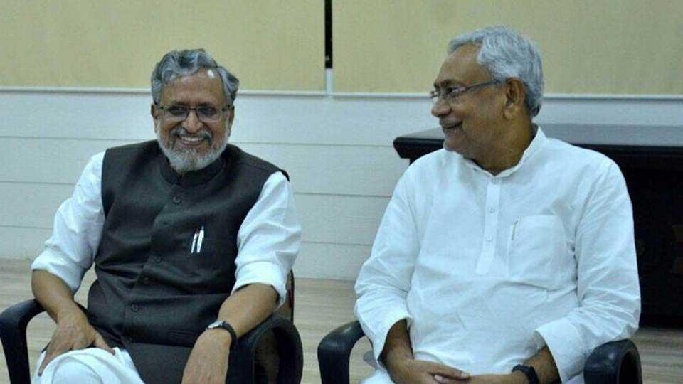 Sushilkumar Modi, NitishKumar