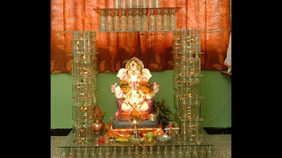 Plastic permission for Ganesh idols