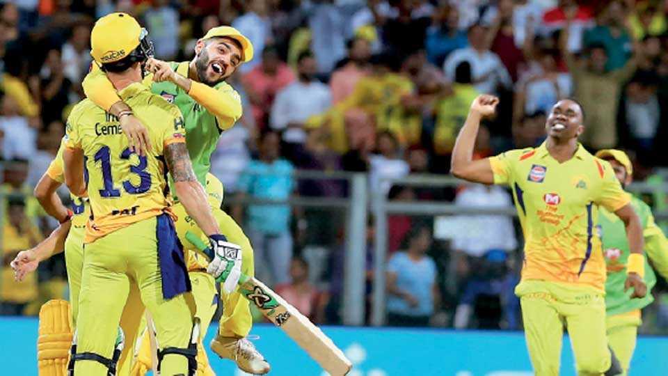 IPL 2018: Super Kings wins