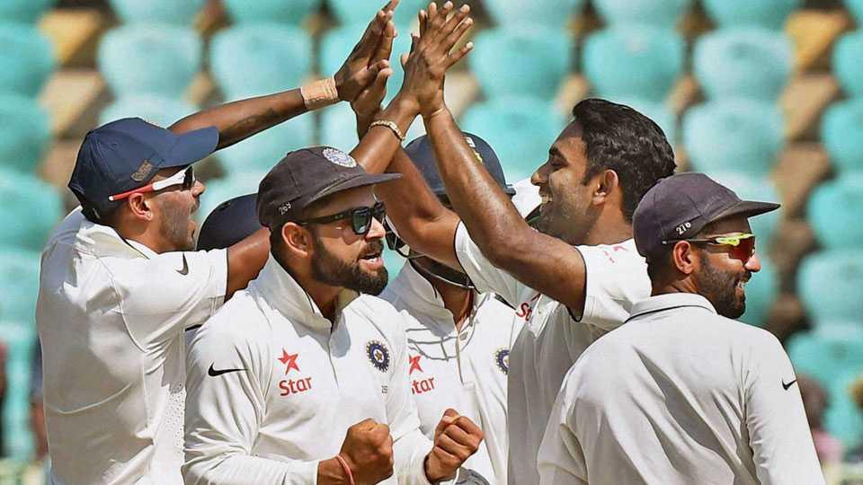 indian cricket team celebration
