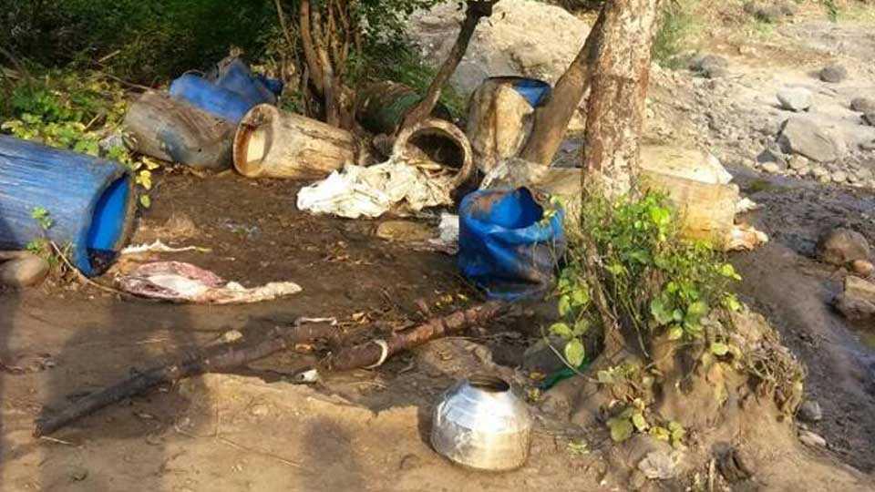 marathi news nashik news nashik breaking news Barbecue distroyed