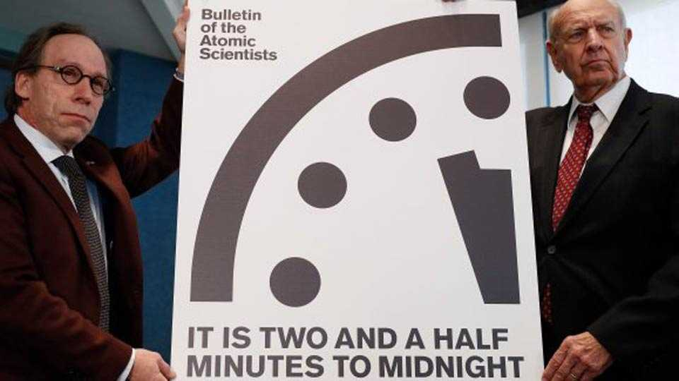 The Doomsday Clock is now 2.5 minutes to midnight, but what does that really mean?