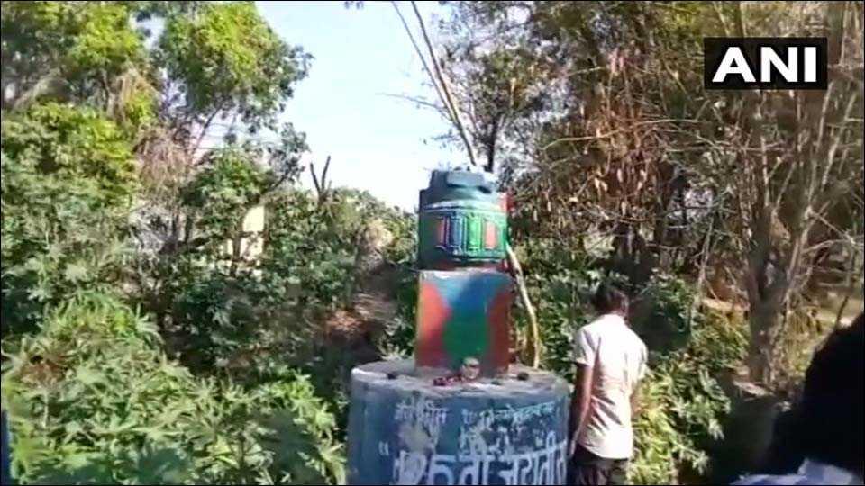 B R Ambedkar's statue vandalised in UP's Meerut