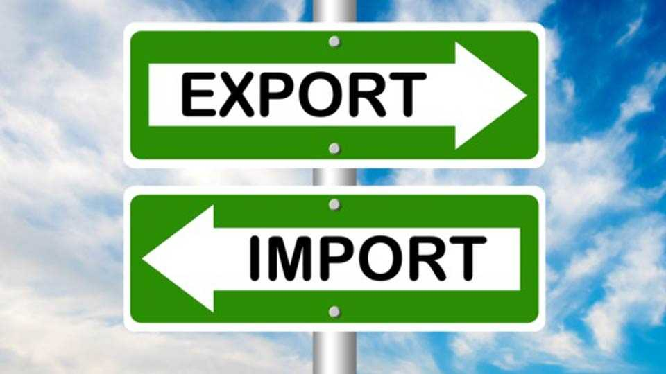 The growth of India's imports and exports