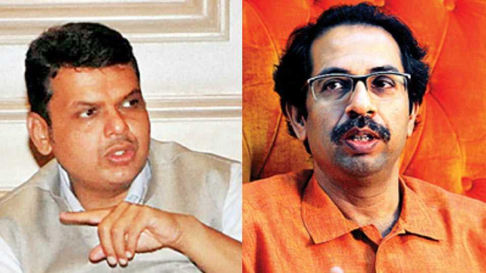 Devendra Fadnavis and Uddhav Thackeray