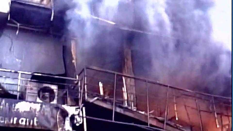 Fire in Gondia hotel, five died