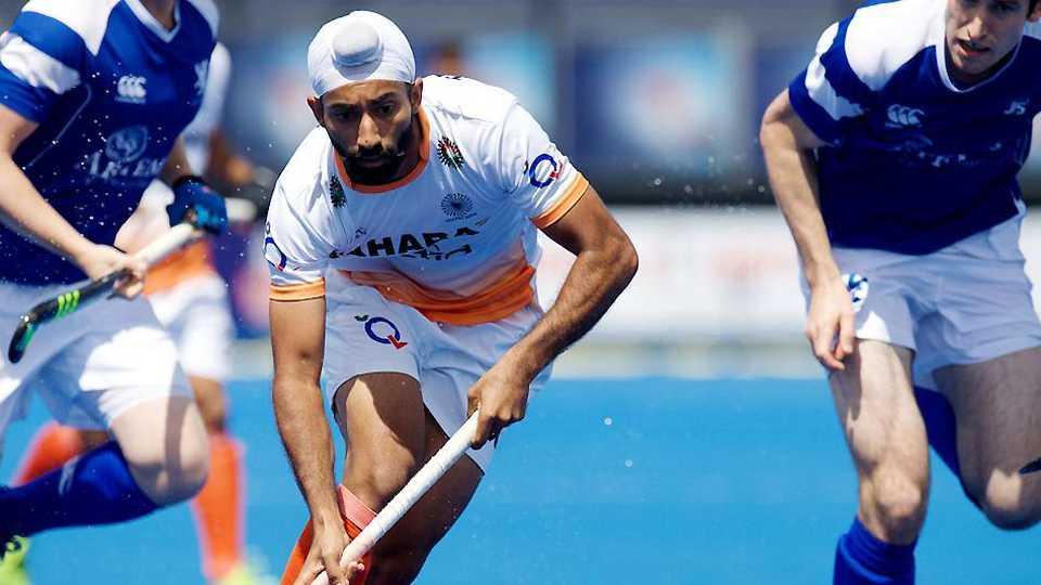 India begin Hockey World League Semi-final with 4-1 win over Scotland