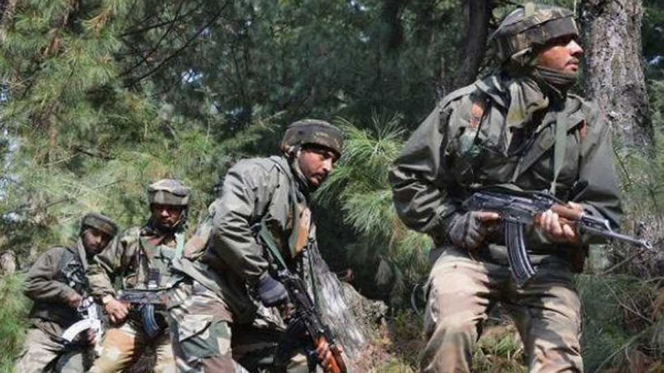 Two terrorists in Tral, Kashmir gunned down in encounter with security forces