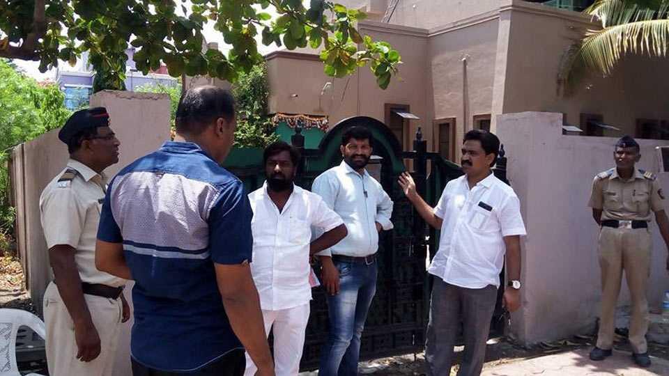 Aurangabad News jayaji suryavanshi in farmer strike