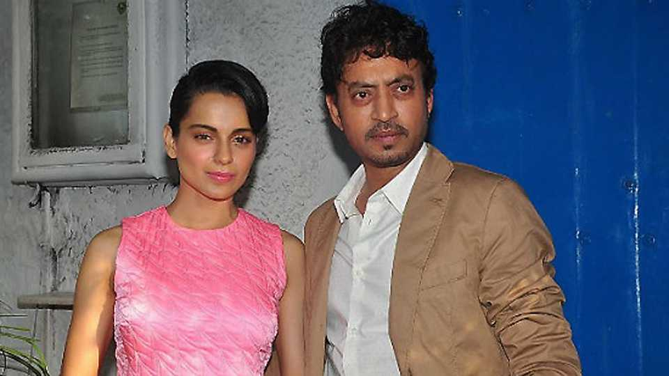 Here is why Irfan Khan wants to work with Kangana Ranaut?