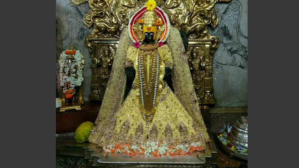 shiv sena agitaiton mahalaxmi temple kolhapur