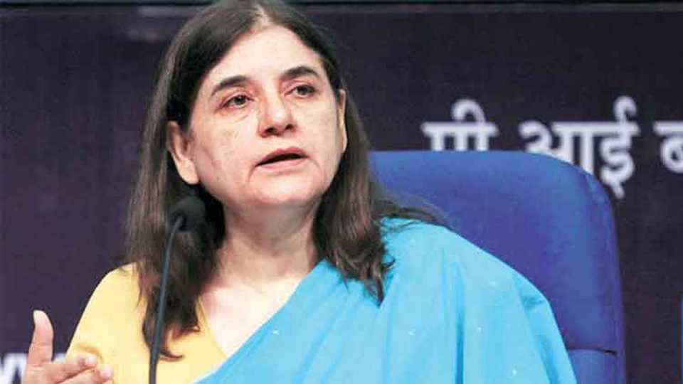 Physically Harassment give Compensation to Boy says Minister Maneka Gandhi
