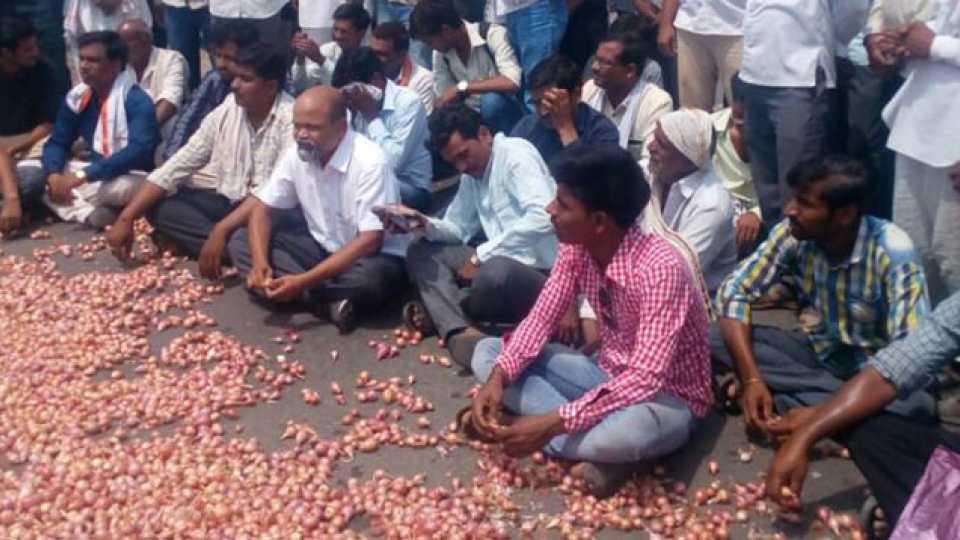 Maharashtra breaking news Marathi news farmer strike stalled state