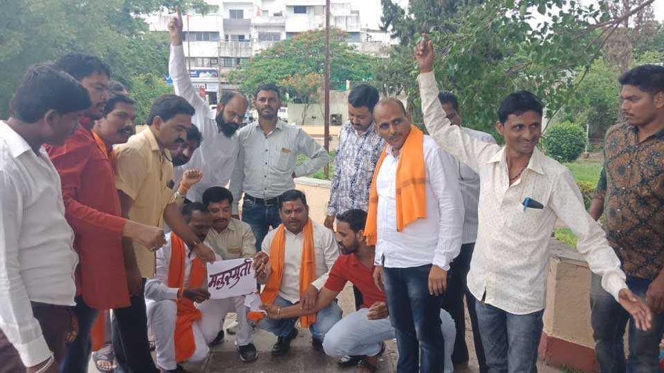 maratha kranti morcha criticize sambhaji bhide's statement