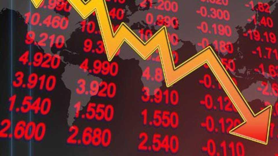 share market down