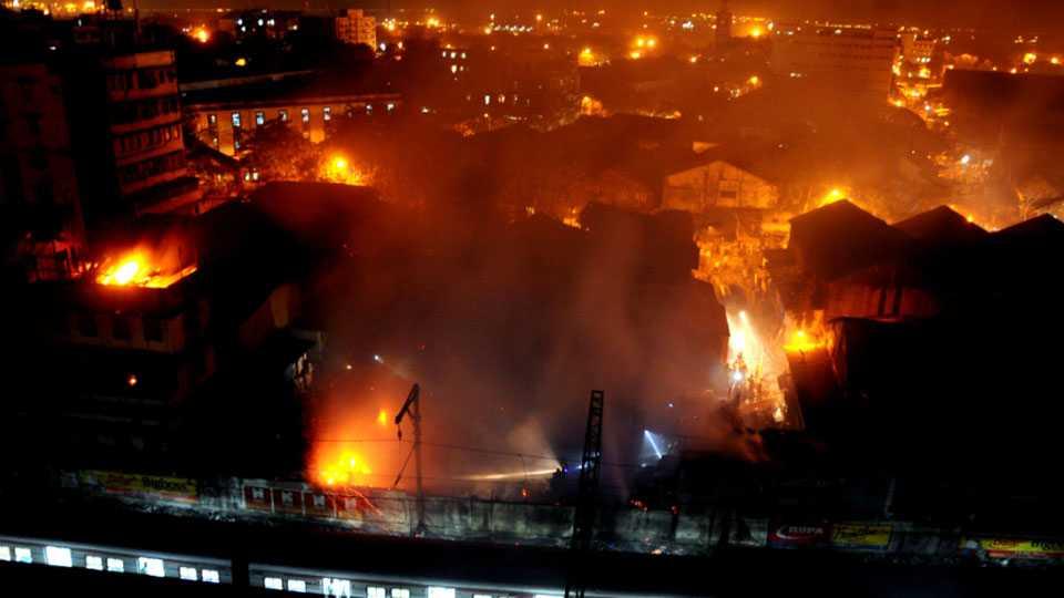 masjid-bandar fire