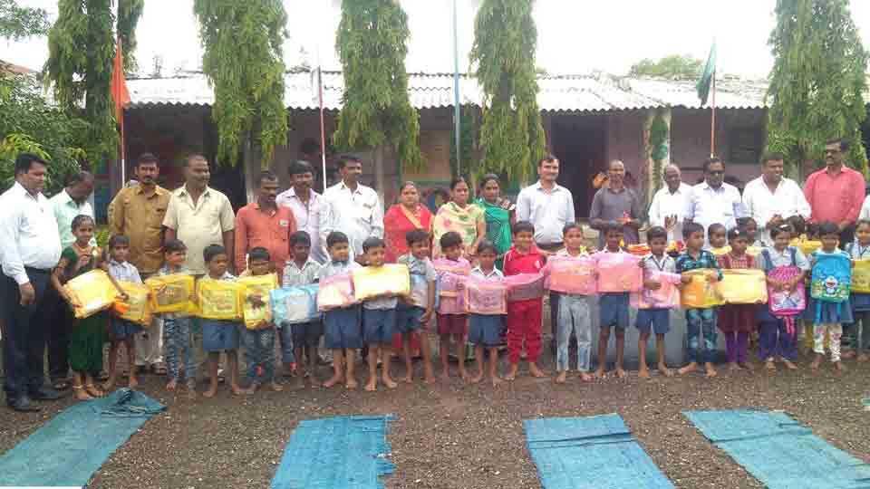Seventy thousands help through facebook to students of Moranagar
