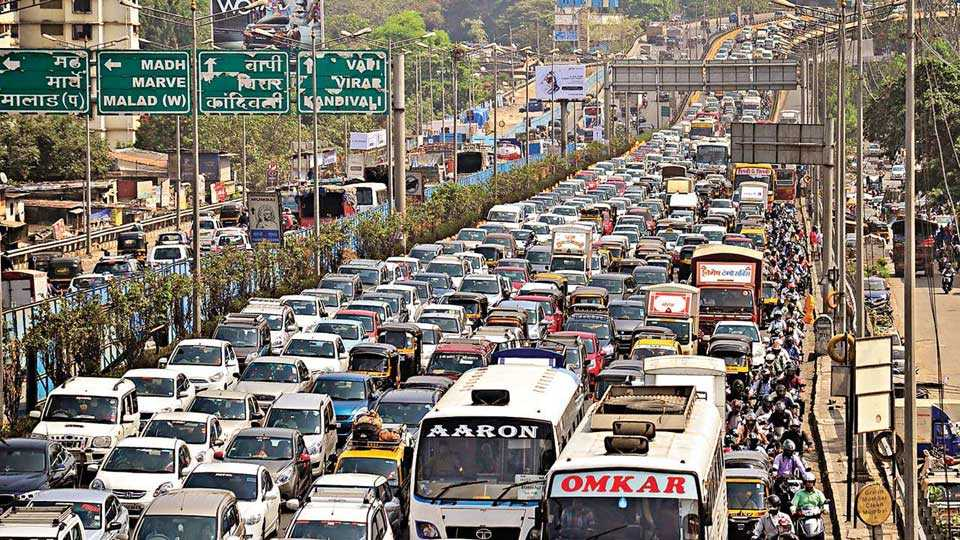 Report about traffic planning in South Mumbai!