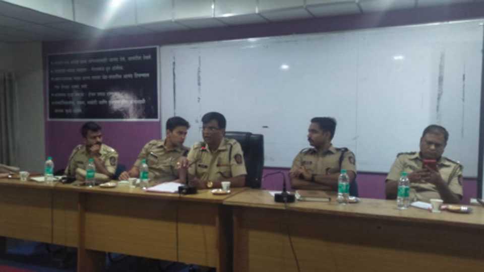 Police Superintendent Jadhav press conference in nanded