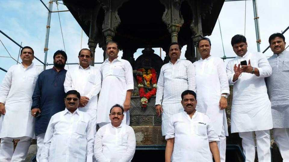 Congress, NCP Sangharsh yatra starts in Raigad