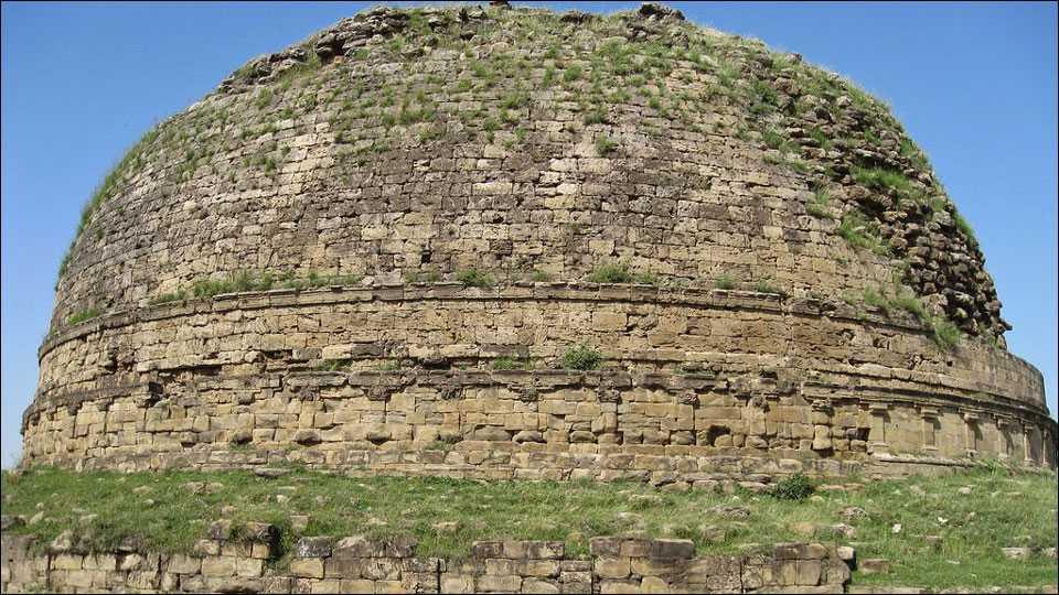 Kanishka stupa in Pakistan