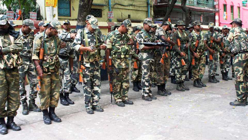 paramilitary forces in india