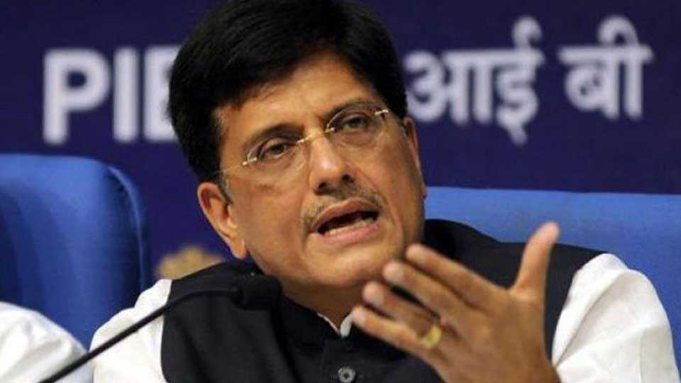 Train delays to cost officials their promotions says piyush goyal