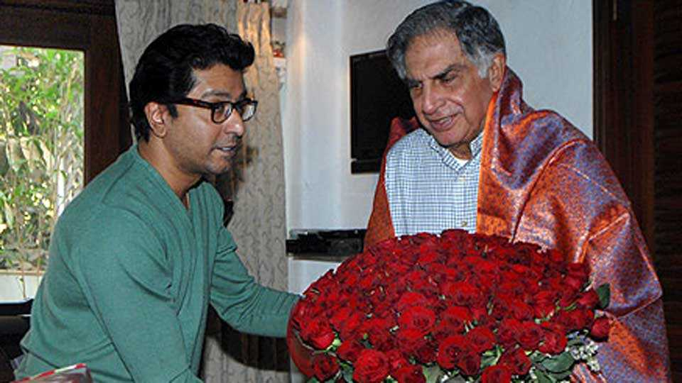 Raj Thackeray & Ratan Tata