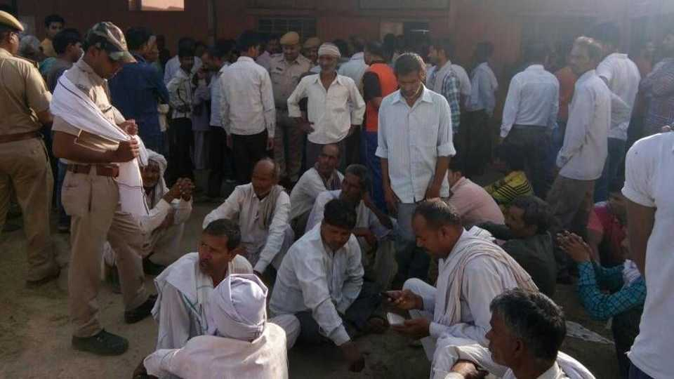 rajasthan: 25 dead wedding hall collapses