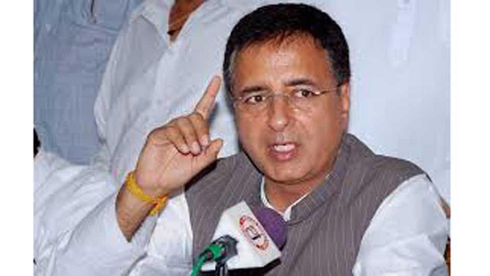 Justice loya death case congress leader Randeep Surjewala Criticizes on Ravi Shankar Prasad
