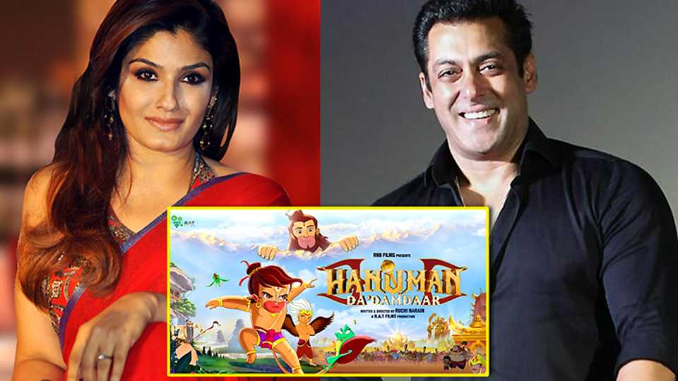 Raveena Tandon To Voice Hanuman's Mother In Salman Khan's Animated film