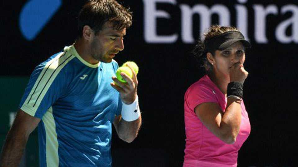 Sania Mirza & Ivan Dodig