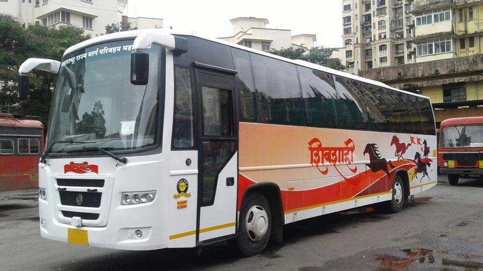 kolhapur news st news state transport shivshahi bus