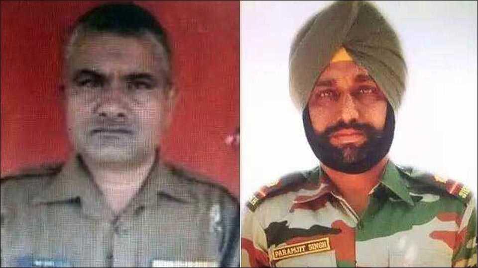 Soldier Prem Sagar - Soldier Paramjit Singh