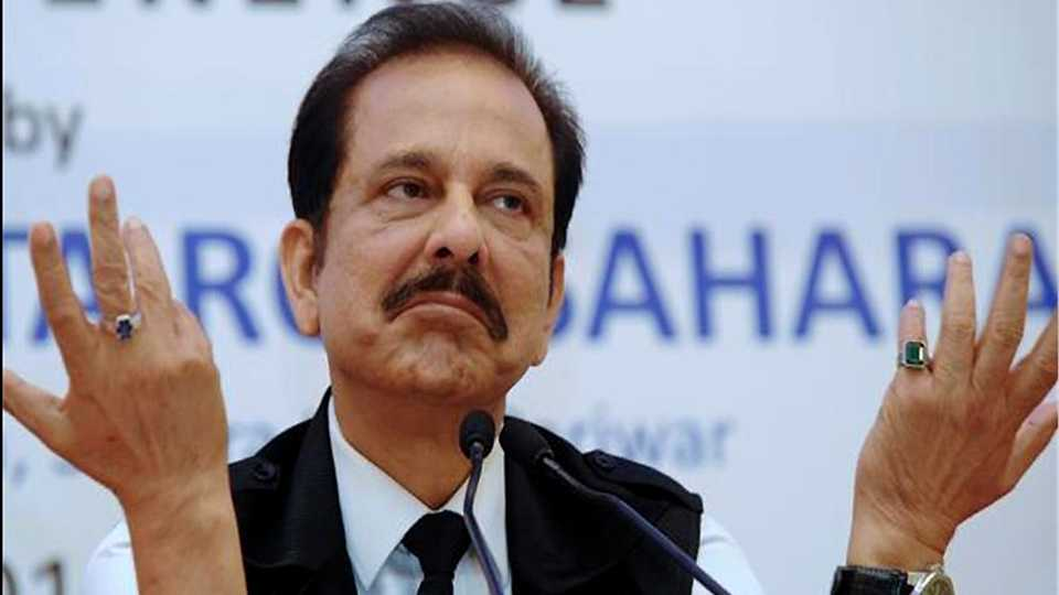 Subrata Roy extended the extension