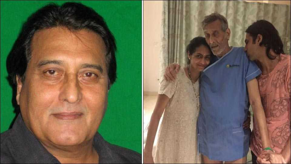 Vinod Khanna hospitalised due to severe dehydration, Son Rahul says the doctors are looking to discharge him soon